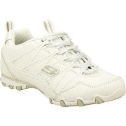 Girls' Skechers Bikers II School Skillz White