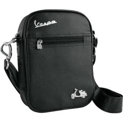 Vespa Small Sling Bag Black