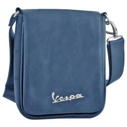 Vespa Small Sling Bag Imitation Leather Blue