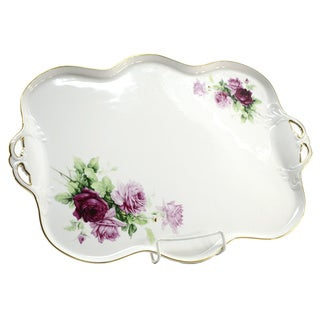 Rose Blossom Serving Platter