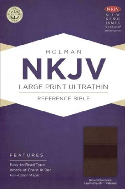 The Holy Bible: New King James Version, Brown / Chocolate, LeatherTouch, Ultrathin Reference Bible (Paperback)