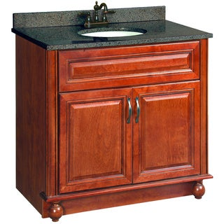 Design House 'Montclair' Chestnut Glaze Vanity Cabinet