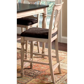 Begonia Two-tone Counter Stools (Set of 2)