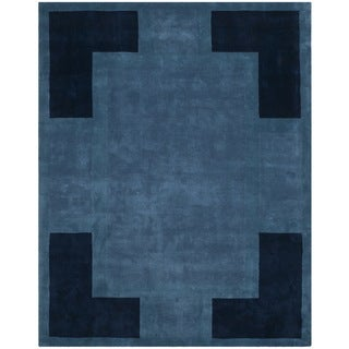Safavieh Hand-made Rodeo Drive Multi-colored Wool Rug (7'6 x 9'6)