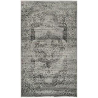 Safavieh Vintage Grey Viscose Rug (2'7 x 4')