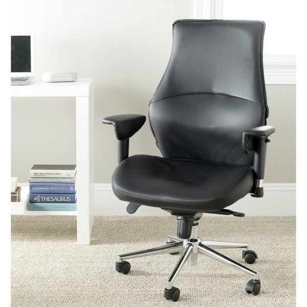 Safavieh Irving Black Desk Chair