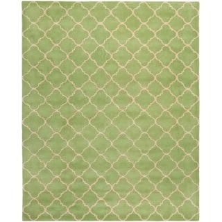 Safavieh Handmade Moroccan Chatham Green Wool Rug (8'9 x 12')