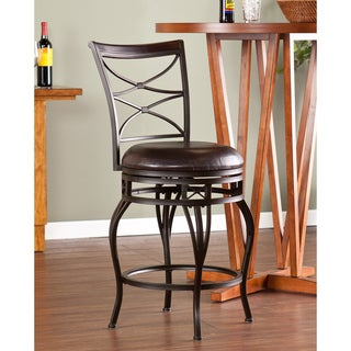 Upton Home Rendova Swivel Counter Stool