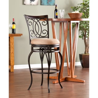 Upton Home Robleda Swivel Bar Stool