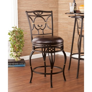 Upton Home Bowerton Swivel Counter Stool