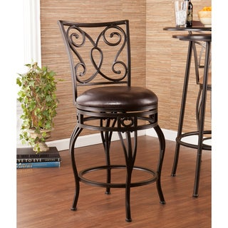 Upton Home Cambridge Swivel Counter Stool