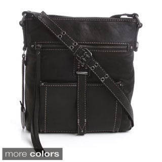 Lucky Ashley Large Crossbody Leather Bag