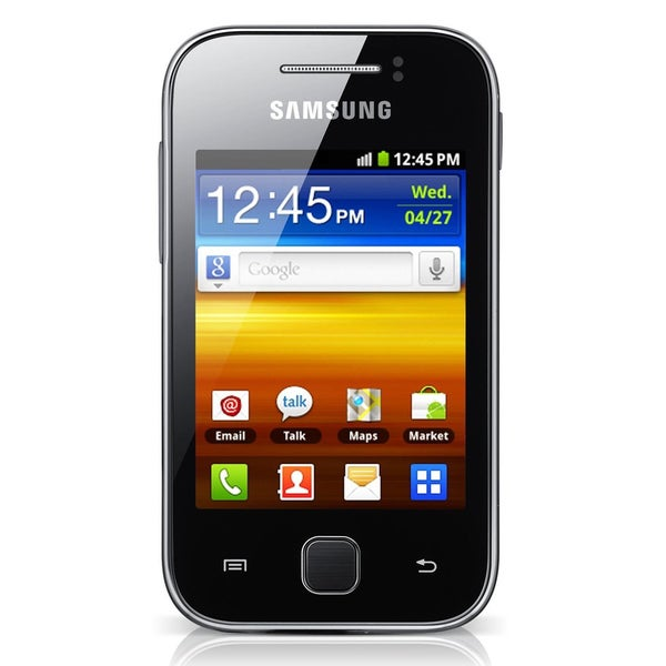 Samsung Galaxy Y S5360 GSM Unlocked Android Cell Phone - Black/Gray (Refurbished)