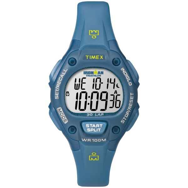 Timex Women's Ironman Traditional 30-Lap Teal Digital Watch