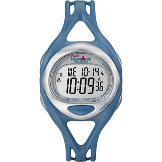 Timex Unisex Ironman Sleek 50-Lap Teal Digital Watch