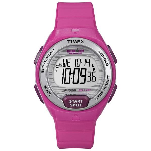 timex t5k7619j s ironman oceanside 30 pink