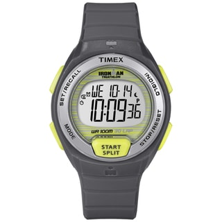Timex Women's Ironman Oceanside 30-lap Grey Digital Watch