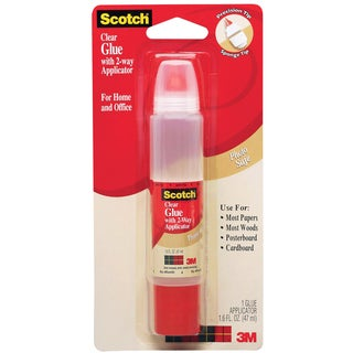 Scotch Clear Glue in 2-Way Applicator (1.6 Ounces)