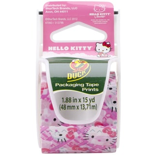 Hello Kitty EZ Start Packaging Tape Licensed 1.88-inch x 15-yard Duct Tape