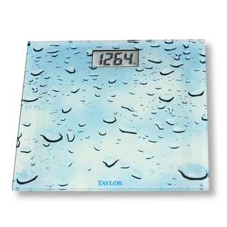 Taylor 'Water Drop' Glass Digital Scale