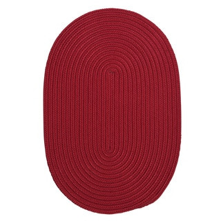 Anywhere Indoor/ Outdoor Oval Rug (5' x 7')