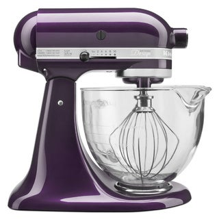 KitchenAid KSM155GBPB Plumberry 5-quart Artisan Stand Mixer *plus Overstock $30 gift card and $30 KitchenAid mail-in-rebate