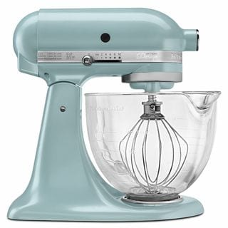 KitchenAid KSM155GBAZ Azure Blue 5-quart Artisan Tilt-head Stand Mixer
