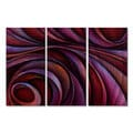 Michael Lang 'Divided Souls' Metal Wall Decor 3-piece Set