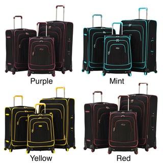 Olympia 'Santa Fe' 3-piece Spinner Luggage Set