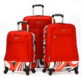 Olympia 'Kauai' 3-piece Hybrid Spinner Luggage Set