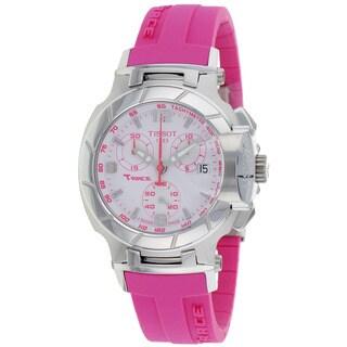 Tissot Women's T0482171701701 T-Race Chronograph Watch