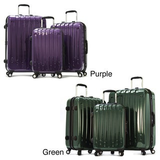 Olympia 'Dynasty' 3-piece Hardcase Spinner Luggage Set