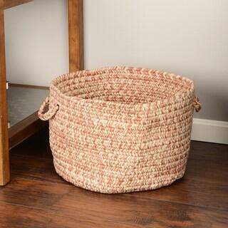 'Canyon' 18-inch Tweed Braided Basket