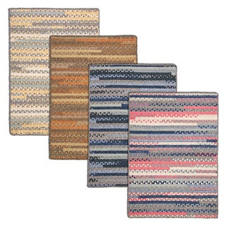 Perfect Stitch Multicolor Braided Cotton-blend Rug (3' x 5')