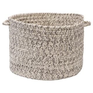 'Canyon' 14-inch Tweed Braided Basket - 14 in L x 14 in W x 10 in H