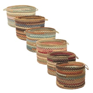 Alexandra Cotton-blend Storage Baskets