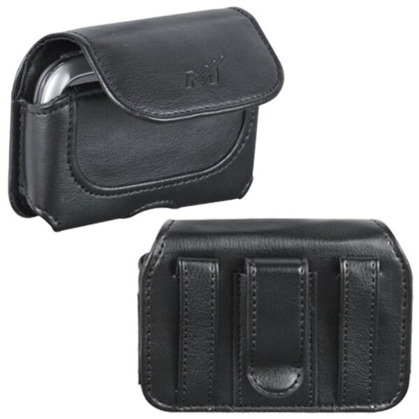 INSTEN Black Horizontal Pouch for Samsung T359