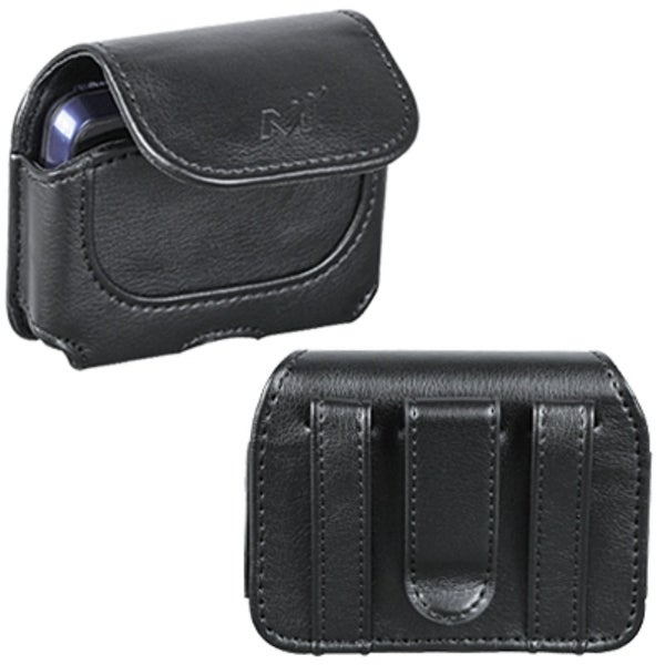 INSTEN Black Horizontal Pouch for UT Starcom 8010 Blitz