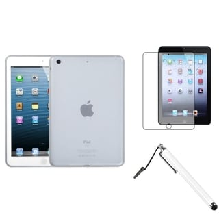 BasAcc T-Clear Soft Case/ Stylus/ LCD Protector for Apple iPad Mini