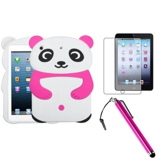 BasAcc Pink Panda Case/ Stylus/ LCD Protector for Apple iPad Mini