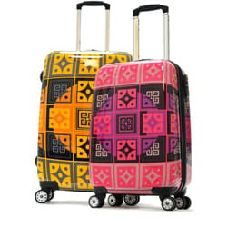 Olympia 'New Age' Art Series 21-inch Carry-on Hardcase Upright