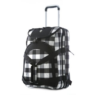 Olympia Maxpandable 21-inch Carry On Rolling Upright