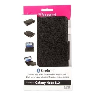 "Aluratek Keyboard/Cover Case (Folio) for 8"" Tablet"