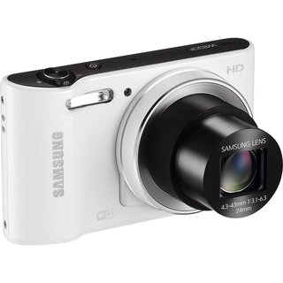 Samsung WB30F 16.2 MP White Digital Camera