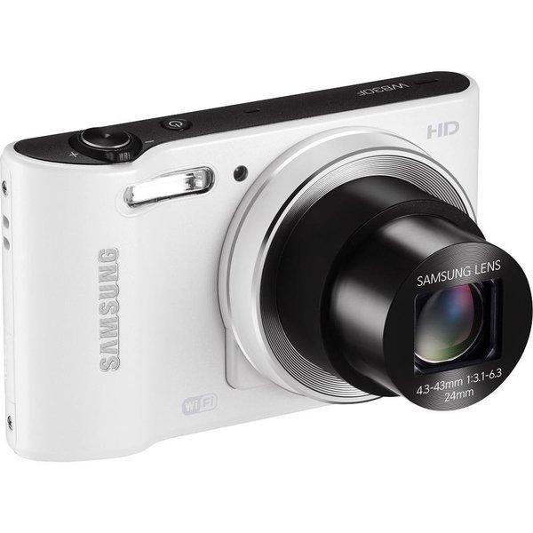 Samsung WB30F 16.2 MP White Digital Camera