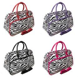 World Traveler Designer Prints Zebra 21-inch Shoulder Tote Duffel Bag