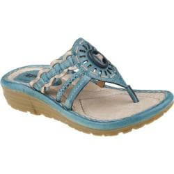 Women's Earth Gale Light Teal Viva Soft Calf