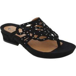 Women's Earthies Toro Black Kid Suede