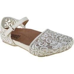 Kalso Earth Shoe Prosper | Women's - White Microfiber - FREE
