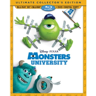 Monsters University 3D (Blu-ray/DVD)